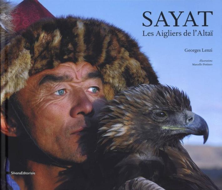 Les aigliers de l'Altai. Photographies de Georges Lenzi.