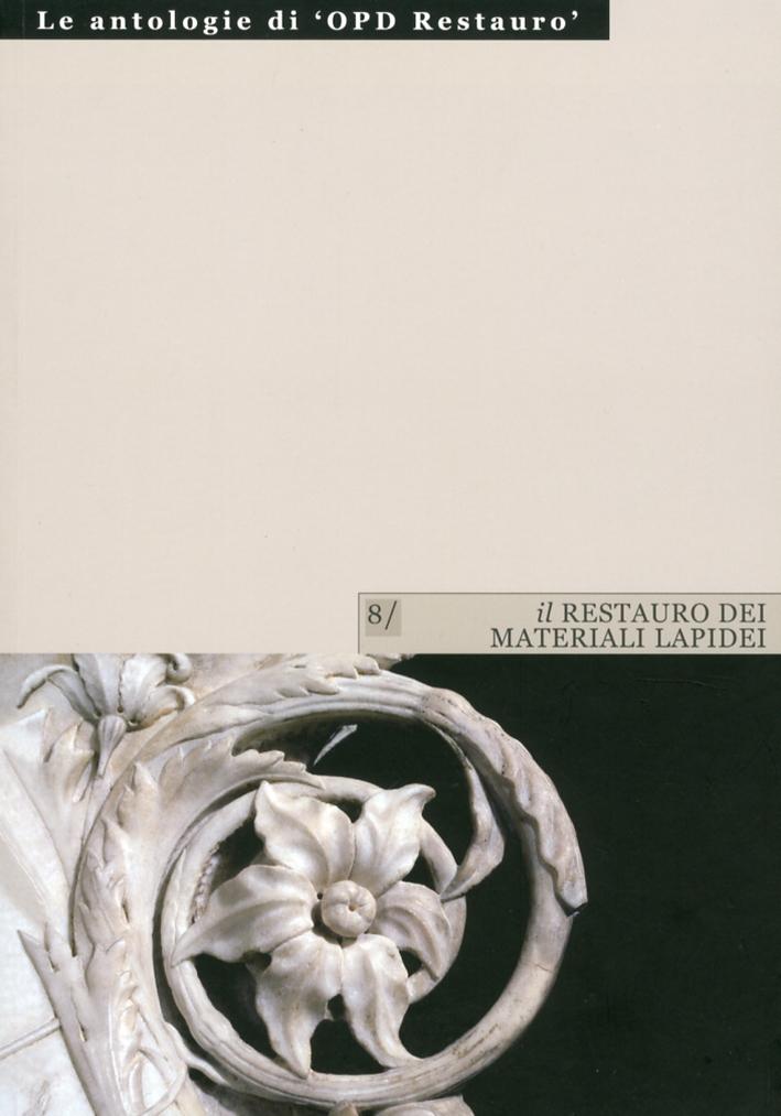 Il Restauro dei Materiali Lapidei. Vol. 1