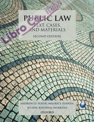 Public Law: Text, Cases, and Materials.