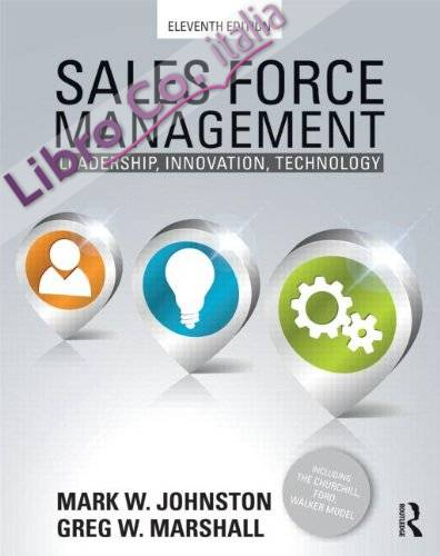 Sales Force Management.