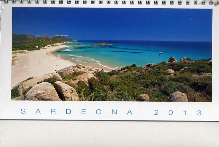 Sardegna 2013. [Calendario da tavolo].