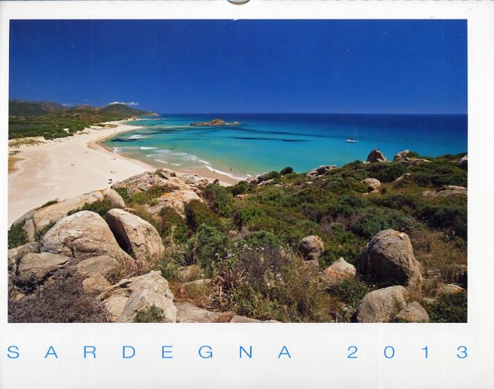 Sardegna 2013. [Calendario da parete]