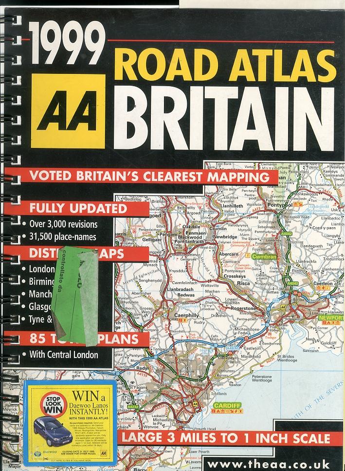 Great Britain Road Atlas. 1999