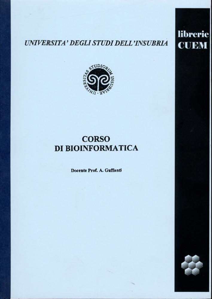 Corso di Bioinformatica. VA 005.