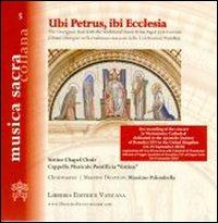 Ubi Petrus, ibi Ecclesia.