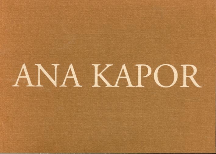 Ana Kapor.