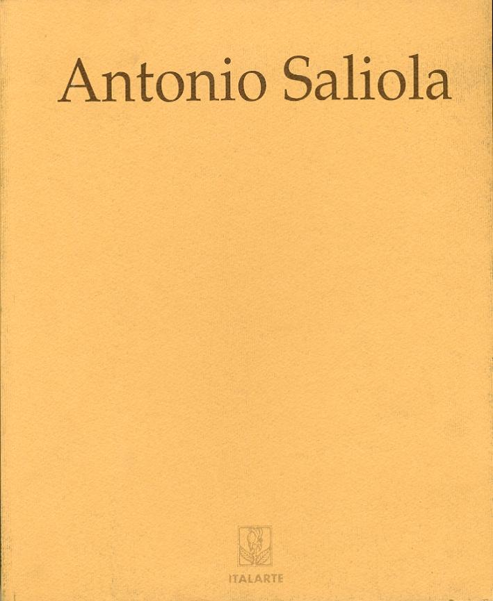 Antonio Saliola. Le rose silenziose