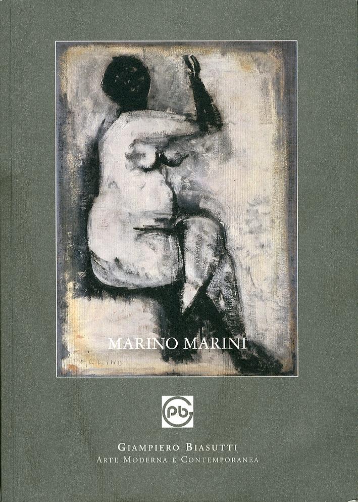 Marino Marini. Sculture, Dipinti, Tempere e Disegni Anni '20 - '70