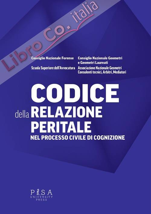 Codice della relazione peritale nel processo civile di cognizione