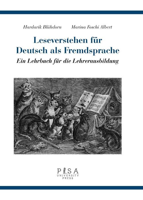 Leseverstehen Fur deutsch als fremdsprache. Ein lehrbuch fur die lehrerausbildung.