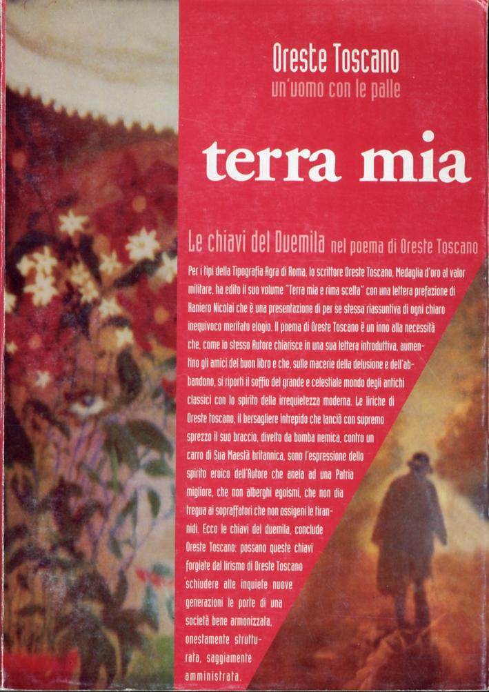 Terra Mia. Le chiavi del Duemila nel poema di Oreste Toscano.