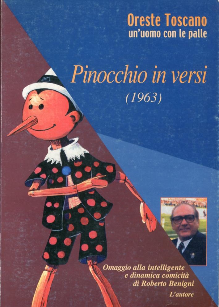 Pinocchio in versi. (1963).