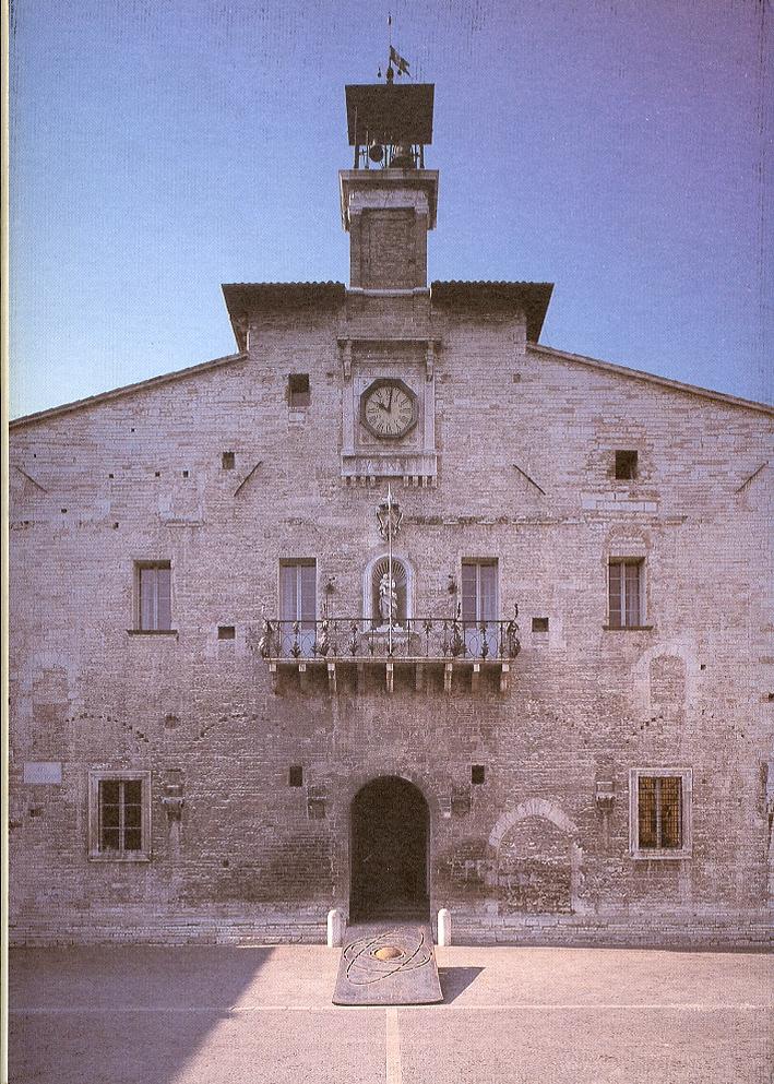 Eliseo Mattiacci a Cagli. Otto opere dal 1987 al 1996. Le opere del centro per la scultura contemporanea