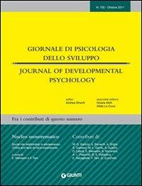Giornale di psicologia dello sviluppo. Ottobre 2011-Gennaio 2012. Ediz. italiana e inglese.