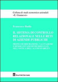Il sistema di controllo relazionale nelle reti di aziende pubbliche
