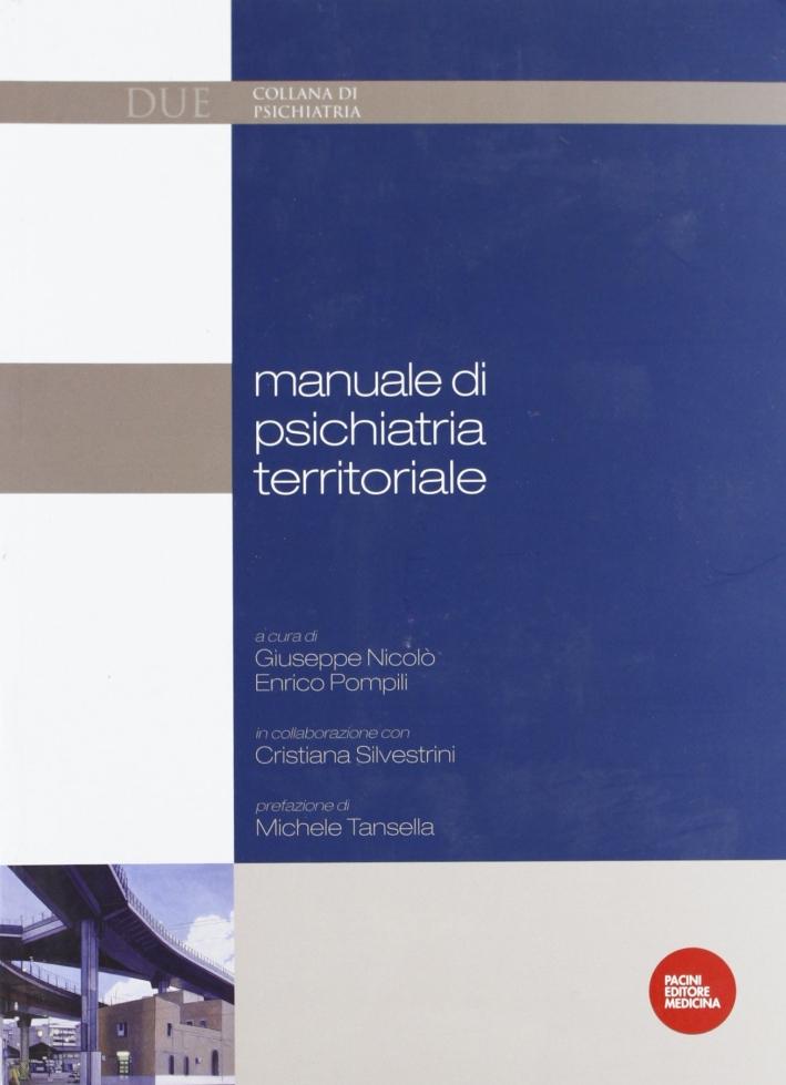 Manuale di Psichiatria Territoriale.