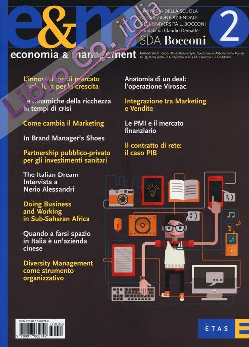 Economia & management. Vol. 2.