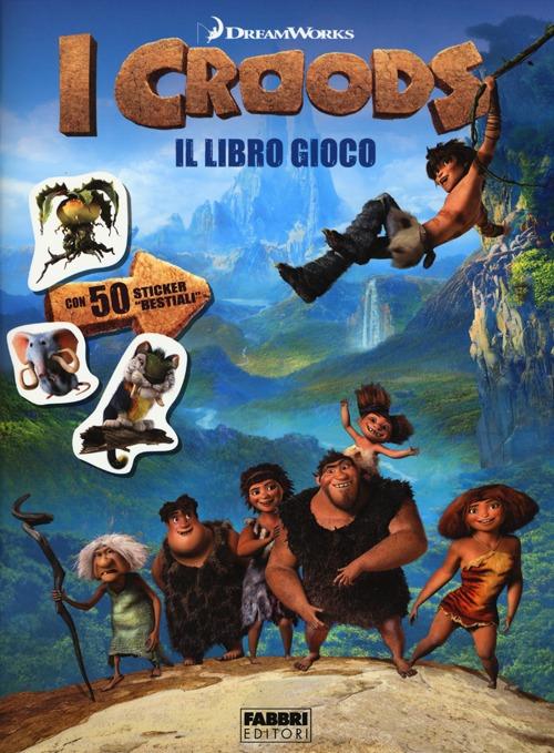 I Croods. Il libro gioco. Con adesivi