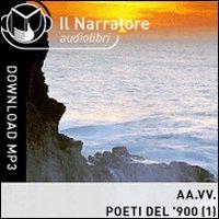 Poeti italiani del '900. Audiolibro. Formato digitale download MP3