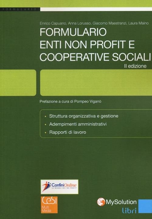 Enti non profit e cooperative sociali