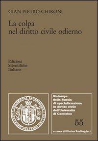 La colpa nel diritto civile odierno (colpa contrattuale ed extracontrattuale)