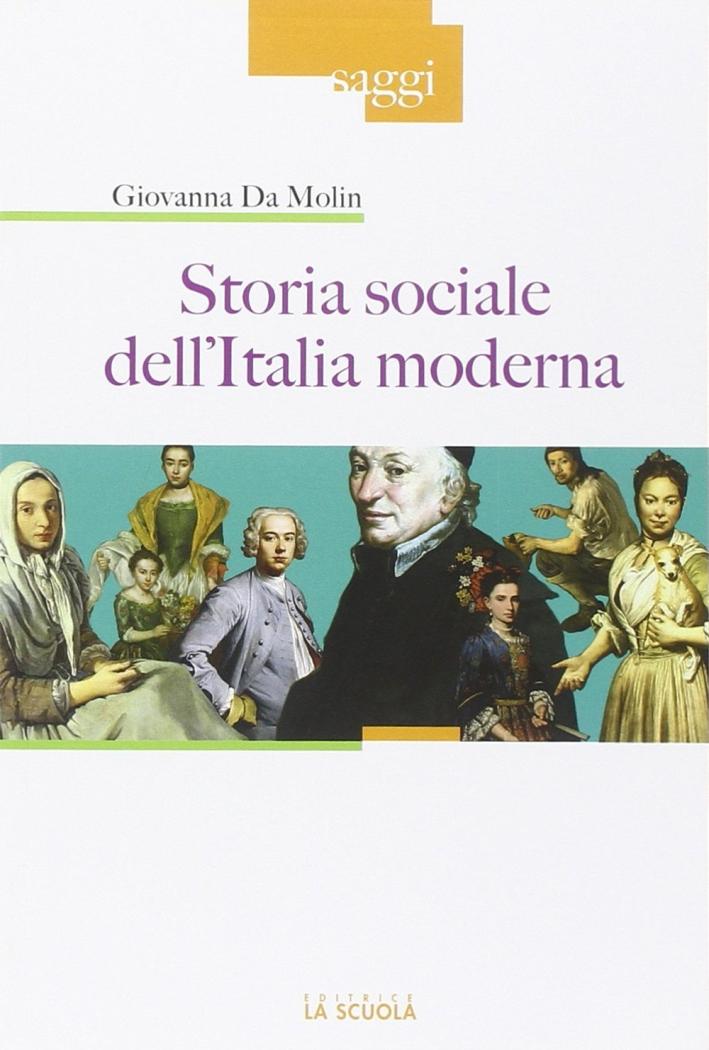 Storia sociale dell'Italia moderna