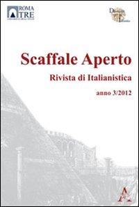 Scaffale Aperto. Rivista di Italianistica (2013)