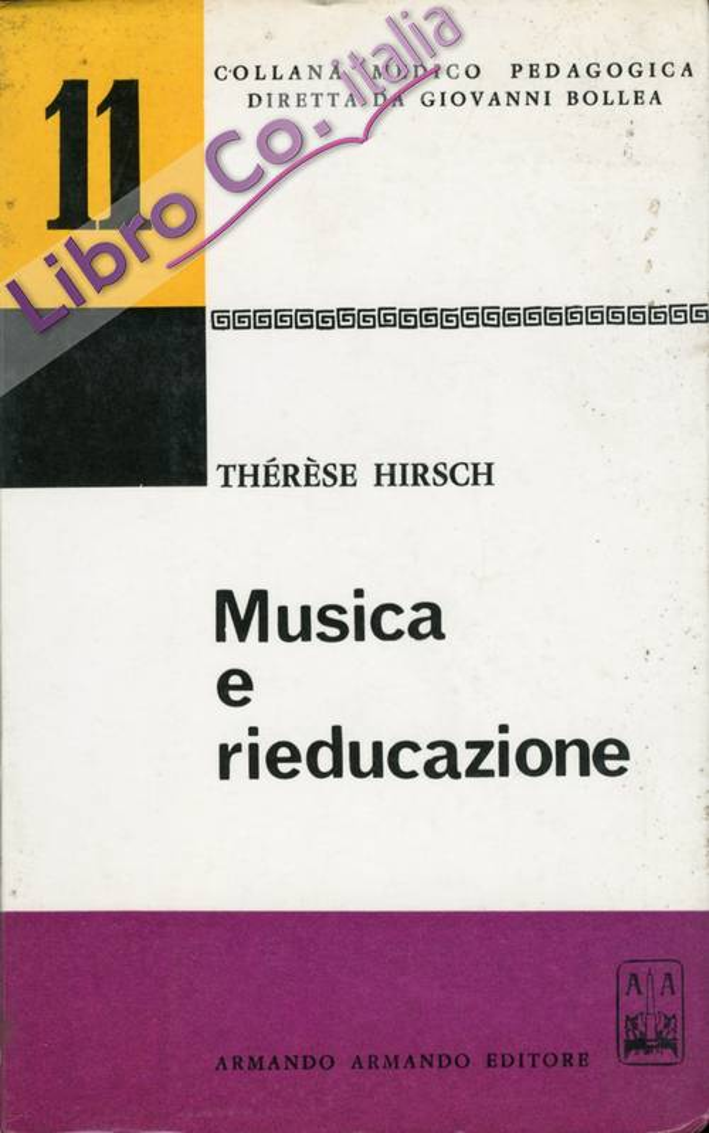 Musica e rieducazione.