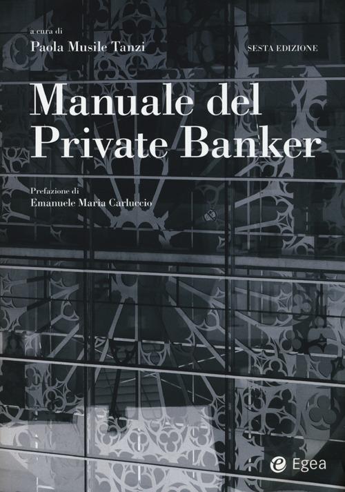 Manuale del private banker.