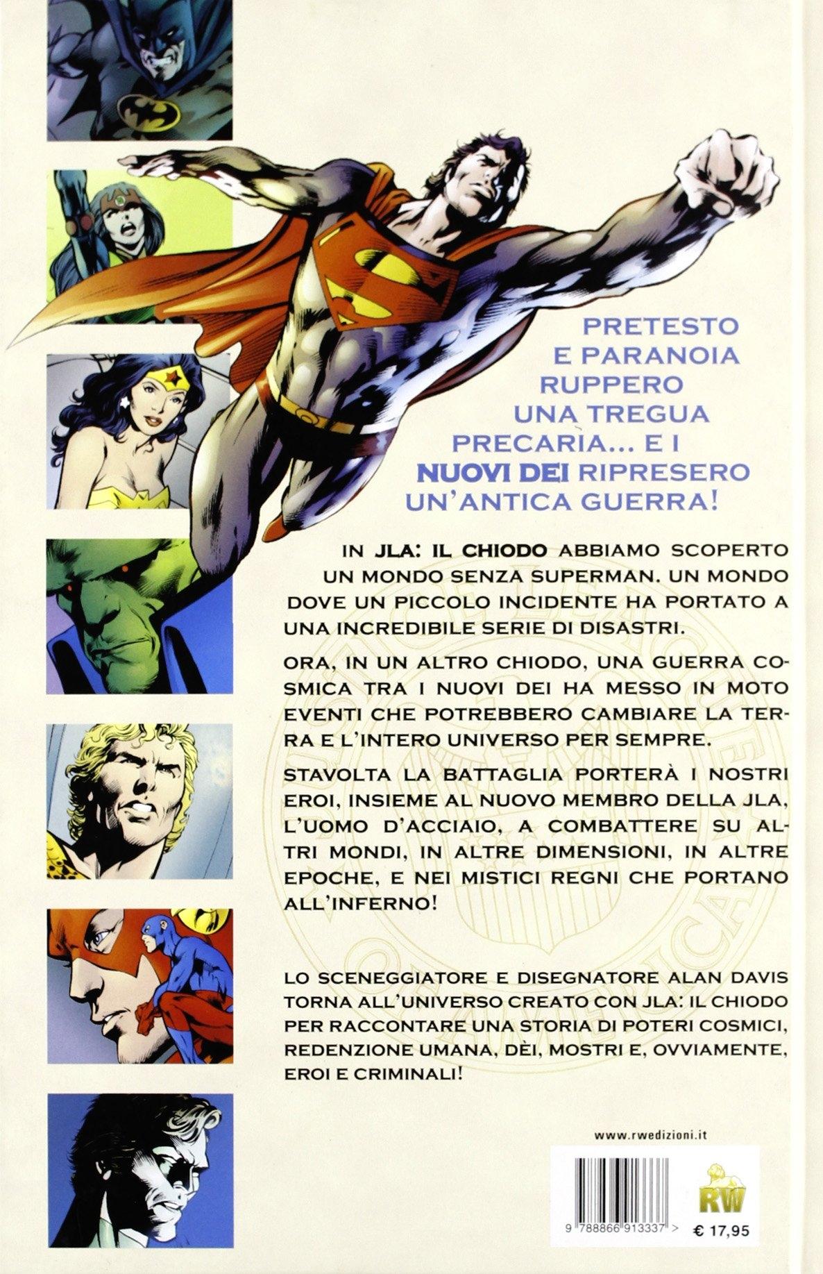 Justice League. Un altro chiodo.