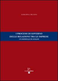 I processi di governo delle relazioni tra le imprese. Un modello di analisi.