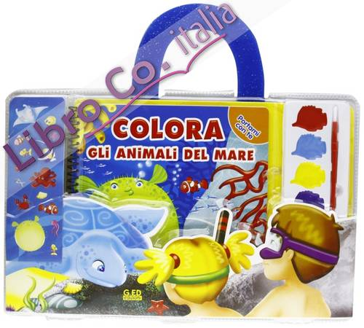 Colora gli animali del mare. Ediz. illustrata