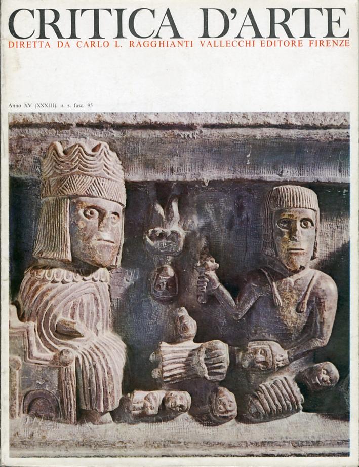 Critica d'arte. Anno XV (XXXIII). Nuova serie. Fascicolo 95.