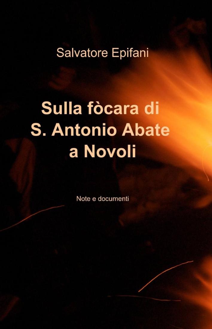 Sulla fòcara di S. Antonio Abate a Novoli