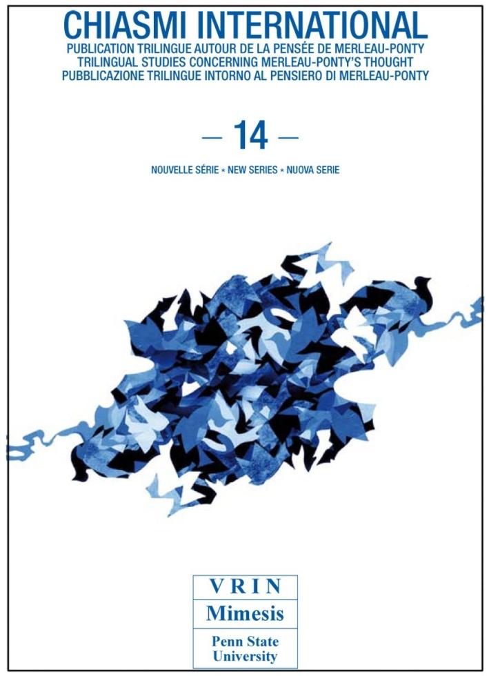 Chiasmi international. Vol. 14: Merleau-Ponty. Scienze, immagini, eventi
