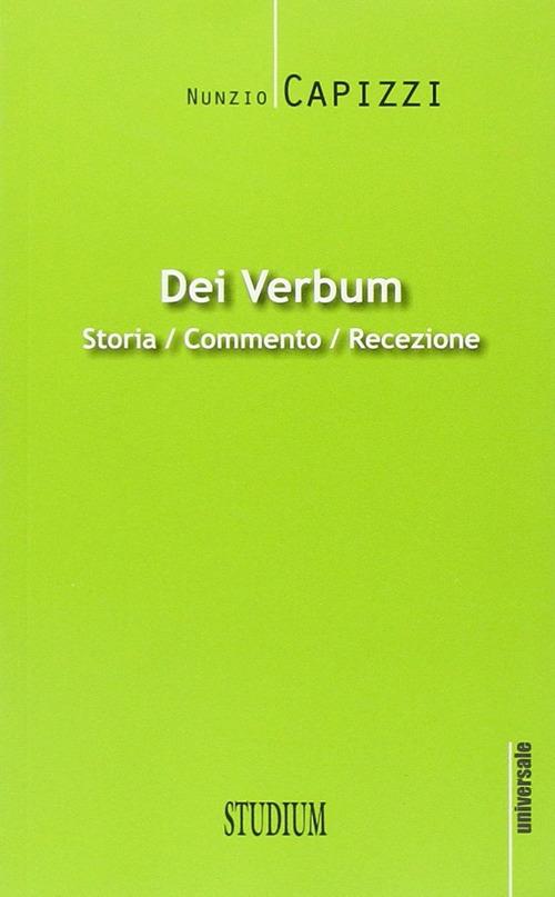 Dei verbum. Storia, commento, recezione