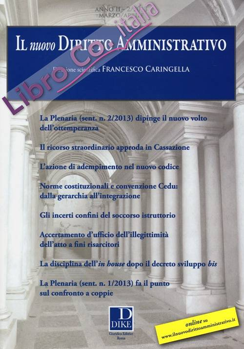 Il nuovo diritto amministrativo (2013). Vol. 2