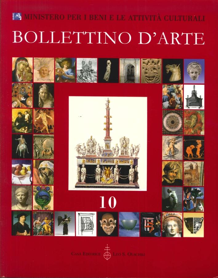 Bollettino d'Arte. 10. Anno 2011. Aprile-Giugno. Anno XCVI. Serie VII