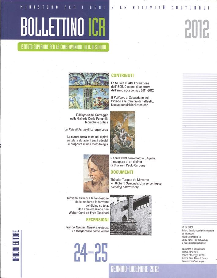 Bollettino ICR. 24-25. 2012