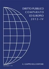 Rivista di Diritto Pubblico Comparato ed Europeo. 4/2012