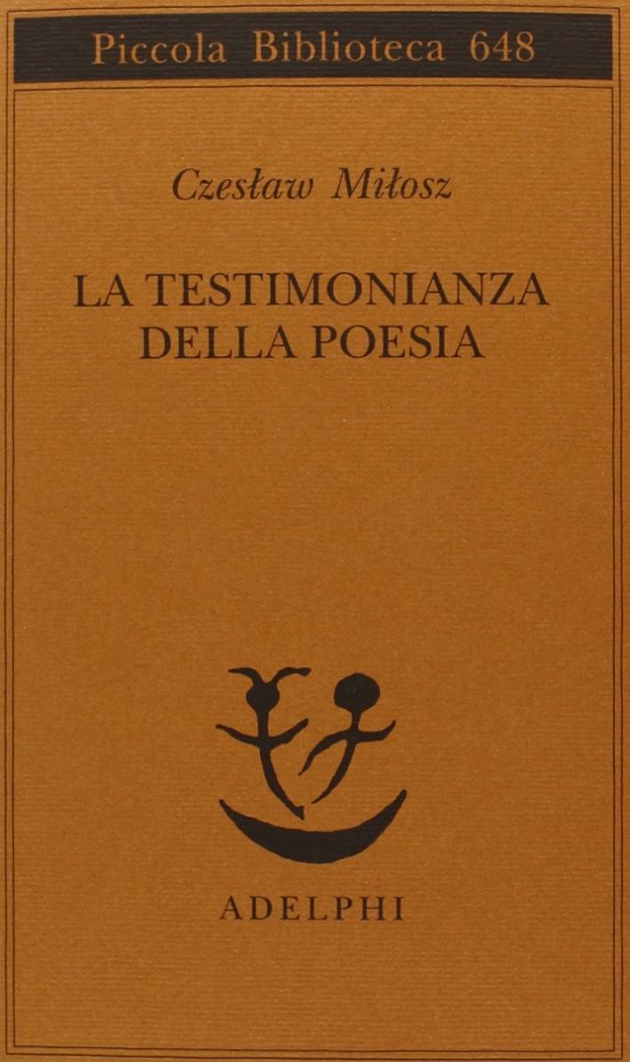 La testimonianza della poesia