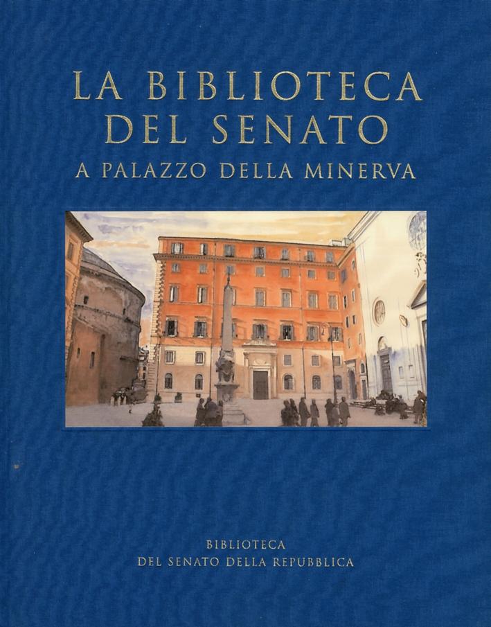 La biblioteca del Senato a Palazzo della Minerva