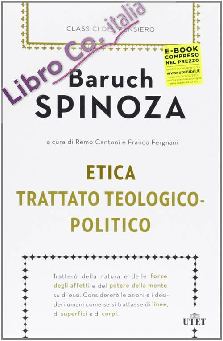 Etica-Trattato teologico-politico