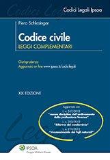 Codice civile. Leggi complementari.