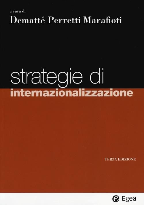 Strategie di internazionalizzazione.