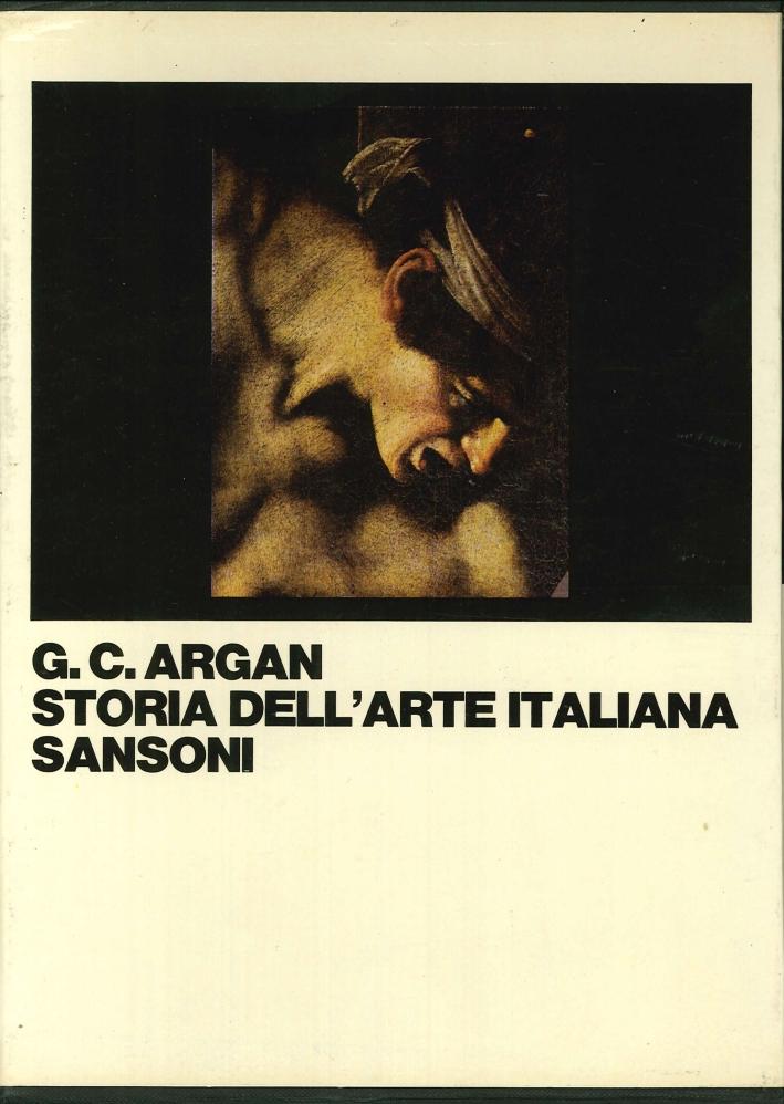 Storia dell'arte Italiana.