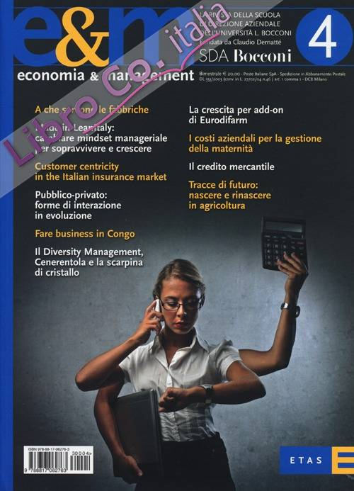 Economia & management. Vol. 4
