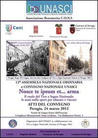 Unasci. Atti del Convegno Perugia 2012.