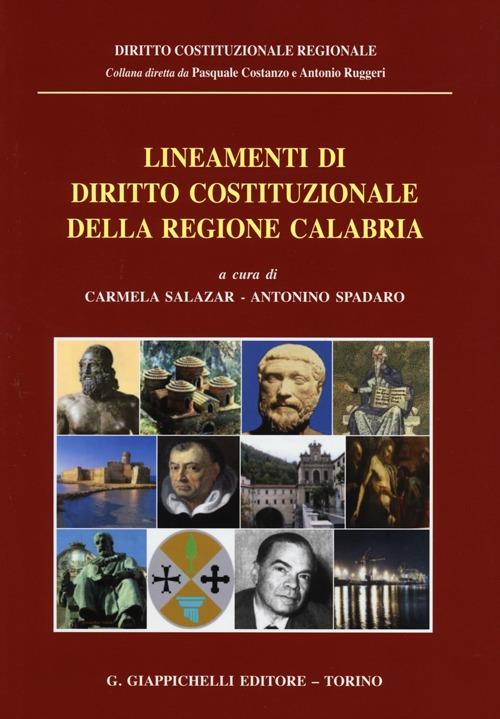 Lineamenti di diritto costituzionale della Regione Calabria.