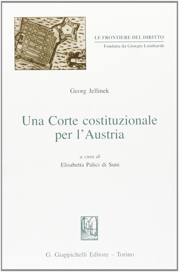 Una Corte costituzionale per l'Austria.